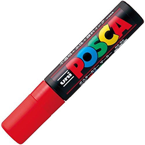 Uni Posca Extra Bold Marker, Red (PC17K.15)
