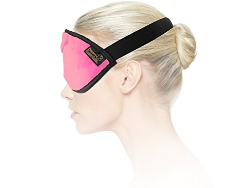 Dream Essentials Opulence Mask and Earplugs, Princess Pink