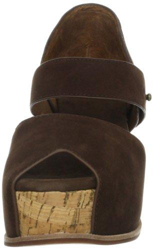 Sandalo Della Piattaforma Donna Malden Marrone