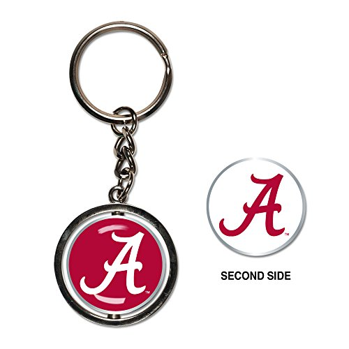 NCAA University of Alabama 18101013 Spinner Key Ring