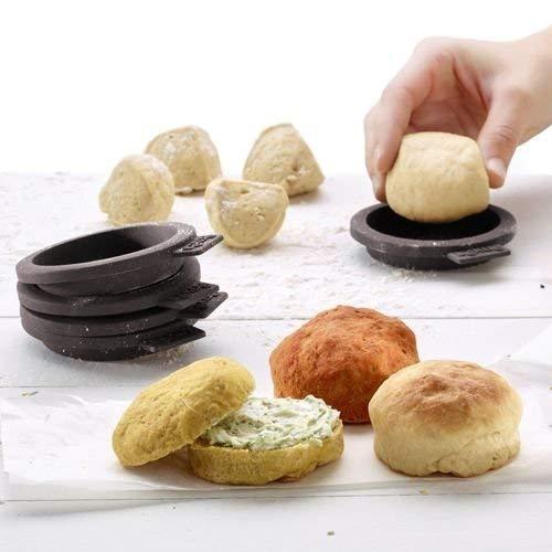 Lékué 0202100M10M017 Molde de silicona para pan de amburguesa 0.135 litros: Amazon.es: Hogar