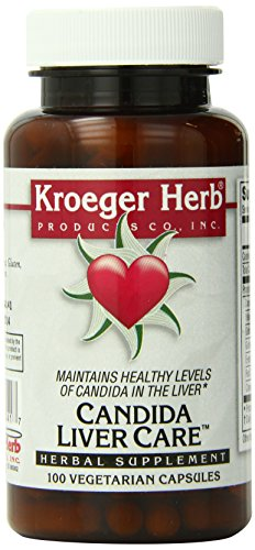 Kroeger Herb Candida Liver Care Vegetarian Capsules, 100 Count Review