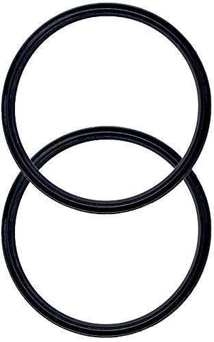 Pack of 2-30 oz Replacement Rubber Lid Ring, Gasket Seals, Lid for Insulated Stainless Steel Tumblers, Cups Vacuum Effect, fit for Brands - Yeti, Ozark Trail, Beast, Black by C&Berg - Cup Lid Seal