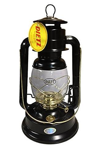 Dietz #90 D-Lite Oil Burning Lantern Black and Gold - Fount Base