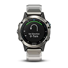 Building on our popular fēnix 5 platform, our next generation multisport marine smartwatch provides comprehensive boat connectivity. It connects with compatible Garmin chart plotters and other devices to provide autopilot control, remote wayp...