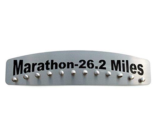 Marathon 26.2 Miles – Stainless Steel Medal Display by Blue Diamond by Blue Diamond Athletic Displays