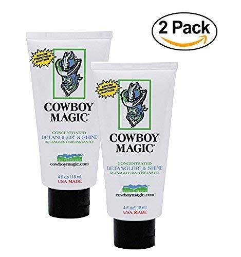 (Cowboy Magic Detangler & Shine for Horse, 4 oz - 2 Pack)