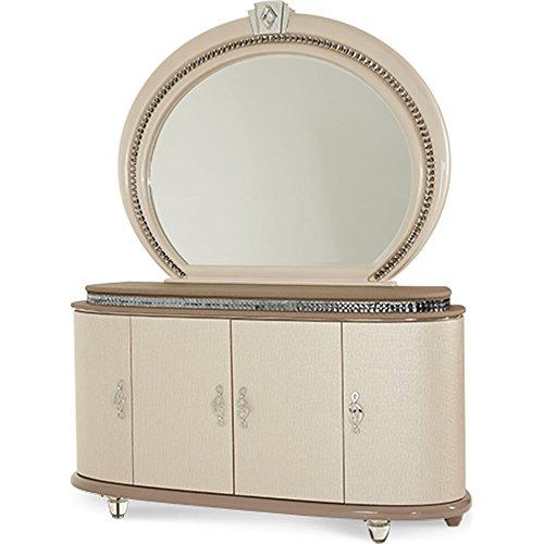 Aico Dresser - Aico Overture Bedroom Upholstered Dresser - 08050-13