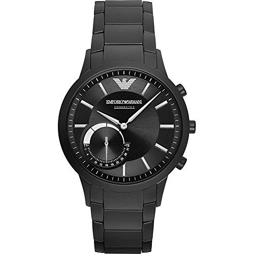 Emporio Armani Hybrid Smartwatch (Black/Black) by Emporio Armani