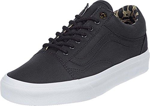 Vans Old Skool Reissue CA Gr 39 UK 6 VKW7AV1 Schwarz Sneaker Schuhe