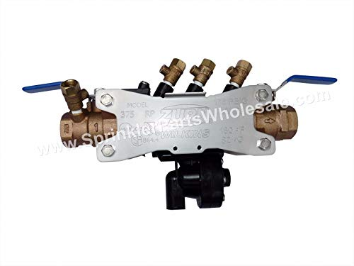 Wilkins 375 1 inch Reduced Pressure Principal Backflow by Wilkins