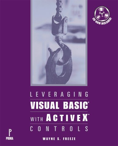 Leveraging Visual Basic With Activex Controls by Brand: Premier Press