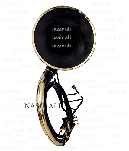 Nasir Ali Sousaphone Bb Big Bell 25'' Black by NASIR ALI