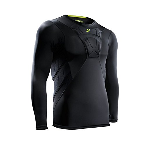 Storelli Sports BodyShield Long Sleeve Field Player Shirt, Small (Shot Soccer T-shirt)
