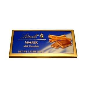 Lindt Wafer Milk Chocolate Bar, 3.5oz (100g)