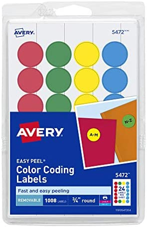 160 Red Blue Green or Yellow Coloured A4 Sticky Labels 8up address stickers