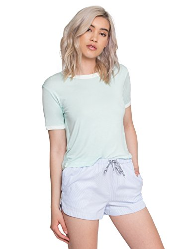 Wet Seal Gold Ringer Tee In Mint