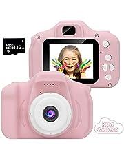 2020 New Cámara para niños de Video/Foto LCD HD 1080p de 2 Pulgadas con SD/32GB
