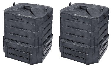 Algreen Products Soil Saver Classic Compost bin (2-(Pack)) by Algreen
