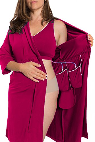 east Cancer/Surgery Recovery (Large, Berry) (Mastectomy Camisole)