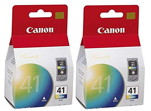 (2 X Canon CL-41 Color FINE Ink Cartridge)
