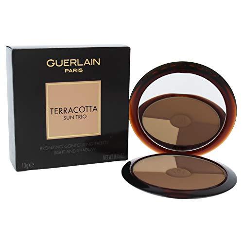 Guerlain Terracotta Sun Trio Bronzing Contouring Palette, Light G042371, 0.35 Ounce