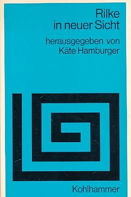 Rilke in Neuer Sicht, Hamburger, Kate