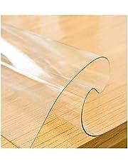Transparent Bordsskydd, Transparent PVC-bordsduk 0,5 mm skrivbordshyllor Vattentät Tjockt plastbordsskydd Tillverkat av matkvalitets PVC-mjukt glasbord(size:40x80cm/15.75x31.5in)