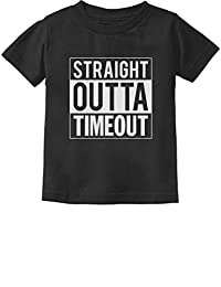 Tstars - Straight Outta Timeout Funny Toddler/Infant Kids T-Shirt