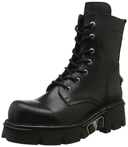 New Rock Men M 563 S1 Stivali Nero - Nero (nero)