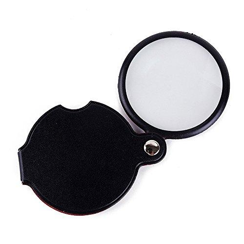 KTYX Magnifier High Power HD Portable Mini Portable Folding Magnifying Glass