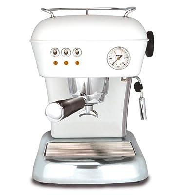 Ascaso DR.110 Dream 16-Bar-Pump Espresso Machine, Cloud White