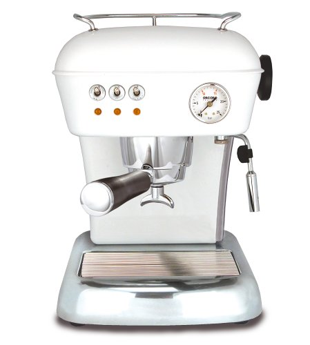 Ascaso DR.110 Dream 16-Bar-Pump Espresso Machine, Cloud White