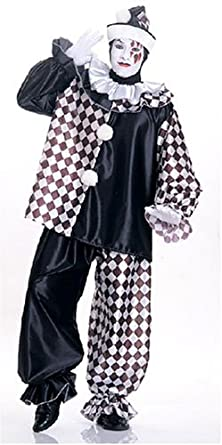 1920s Men's Costumes: Gatsby, Gangster, Mobster, Mafia Adult Pierrot Peto Costume 15320 $44.36 AT vintagedancer.com