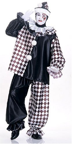 - Rubie's Deluxe Adult Clown Costume -Teen/Men's Standard Size Costume
