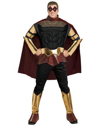 Watchmen Ozymandias Adult Plus Costume Size 44-50]()