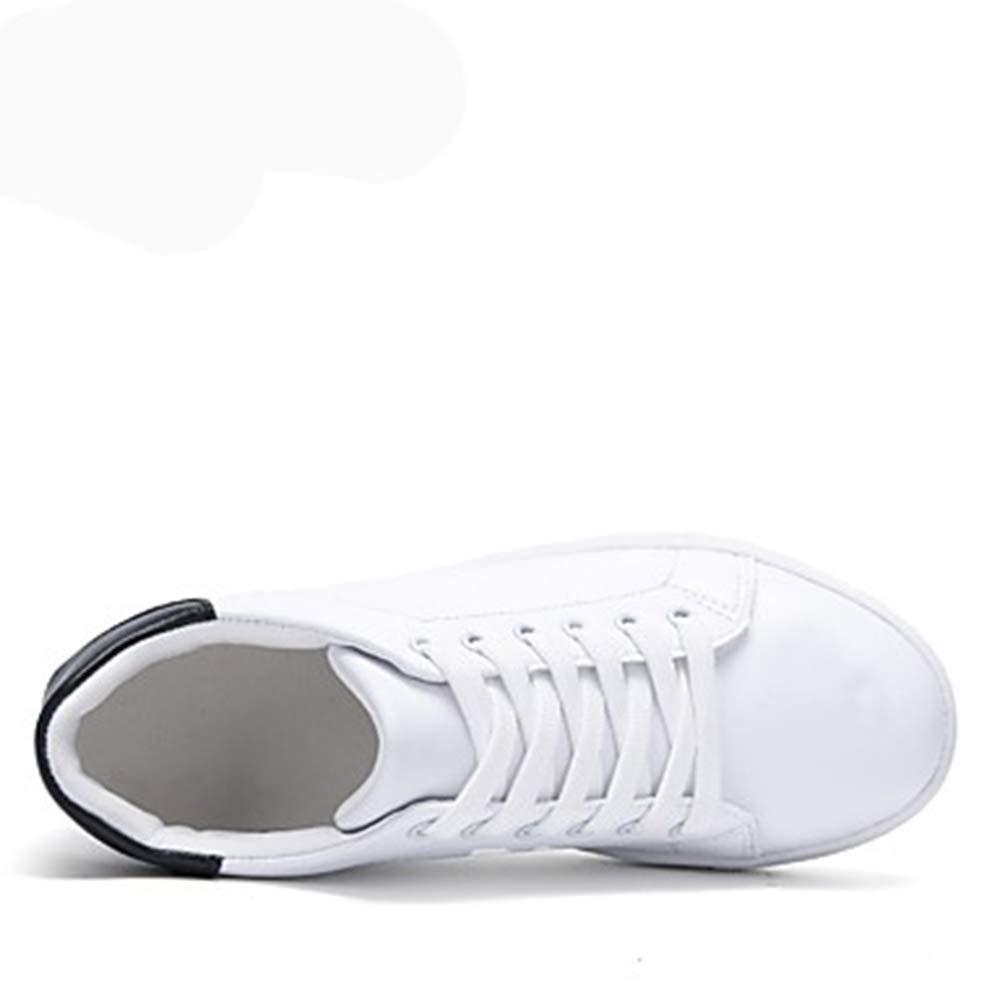 TTSchuhe Damen Schuhe Kunstleder Frühling/Herbst Gladiator Sneakers Walking Keilabsatz / Runde Zehe Schnürsenkel Weiß/Schwarz / Keilabsatz Grün schwarz 95af2b
