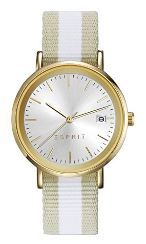 Esprit Watch TP10836 - ES108362002-Beige - Nylon-Oval - 34 mm