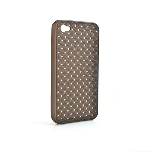 System-s tPU silicone case housse de protection en silicone noir transparent pour apple iPhone 4/4S