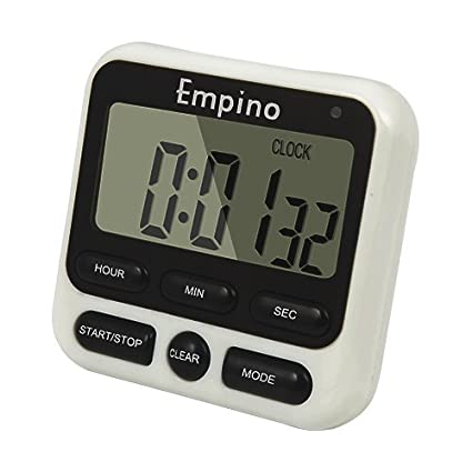 Exceptionnel Digital Kitchen Timer   Empino Upgraded 24 Hours Cooking Timer Clock  Countdown Multifunction With Big