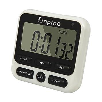 Empino Upgraded 24 horas temporizador Digital de cocina reloj temporizador de cocina cuenta atrás multifunción con