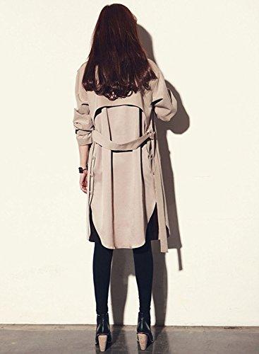 Bininbox® Wear Cintura Slim Giacca Fit Esterno Per Coat Cappotto Donna Da Con Oca Cardi Blazer rrUx46wq