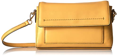 Cole Haan Kaylee Leather Convertible Crossbody Clutch, sunset - Cole Leather Clutch Haan