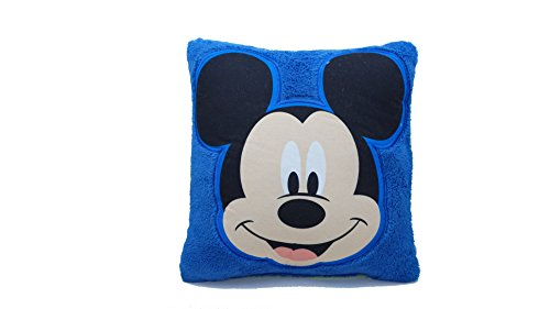 Disney Mickey Mouse Crib Or Toddler Bed Decorative Pillow - Boys - Blue - Green by Disney