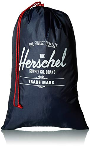 41N265PHk4L - Herschel Shoe Bag Set, Navy/Red