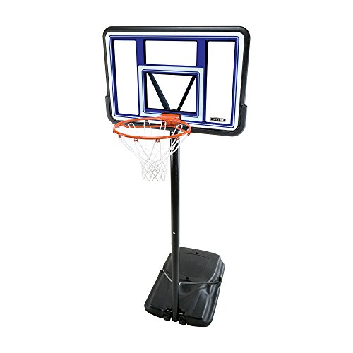 Lifetime 90073 Pro Court Height Adjustable Portable Basketball System, 44 Inch ()