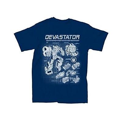 Transformers Devastator Schematics T-Shirt