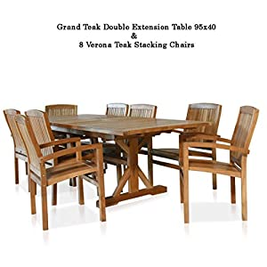 41N27uY4qWL._SS300_ 51 Teak Outdoor Furniture Ideas For 2020