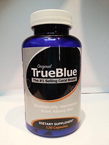 TrueBlue Coral Capsules de calcium - 120 gélatine Casquettes