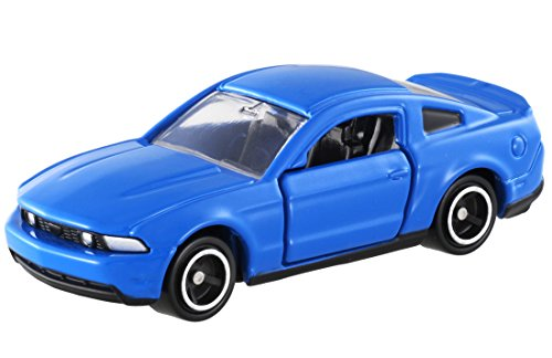Takara Tomy Tomica No.60 Ford Mustang GT V8 Scale 1 : 67 Blue - Ford Tomy
